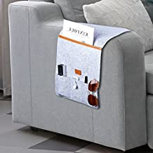 Armrest Organizer Safa Couch Chair Storage with 6 Pocket for TV Remote Control, Phone, Ipad, Magazines