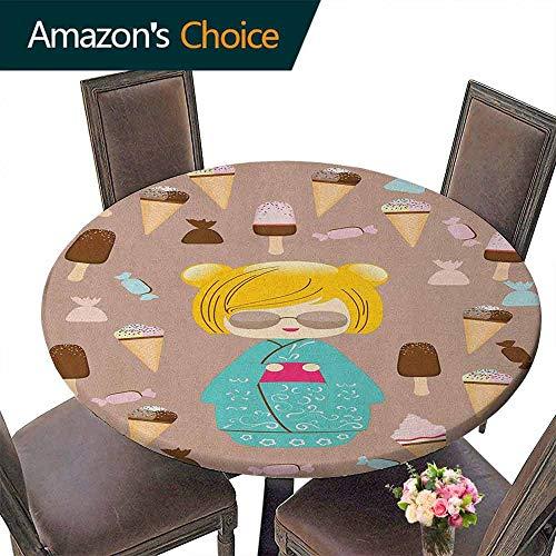 Home Elastic Edged Tablecloth 59