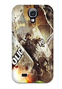 4930202K72483375 Tpu Case Skin Protector For Galaxy S4 Urban Chaos Riot Response With Nice Appearance