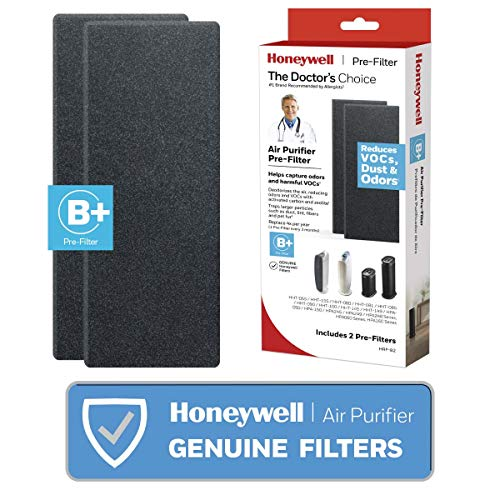 Honeywell HRF-B2 Filter B Household Odor & Gas Reducing Pre-filter, 2 Pack from Honeywell