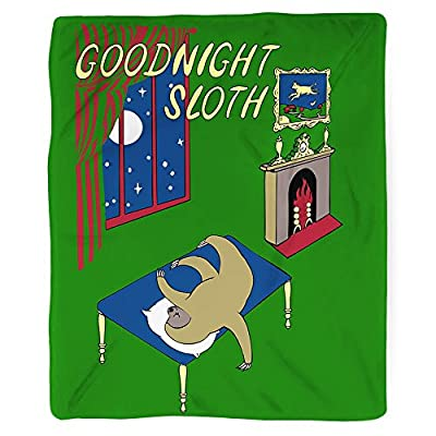 Sharp Shirter Goodnight Sloth Blanket - Sharp Shirter