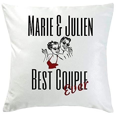 Cojín personalizable Best pareja ever: Amazon.es: Hogar