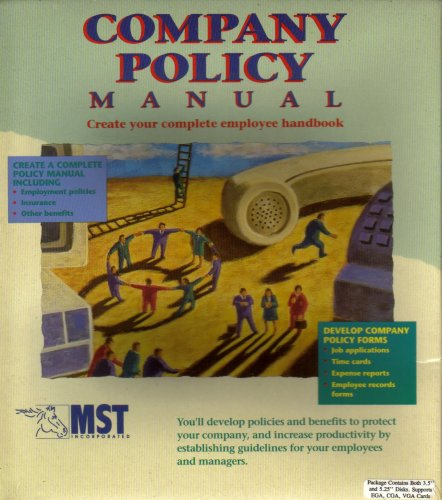 Company Policy Manual - Create Your Complete Employee Handbook
