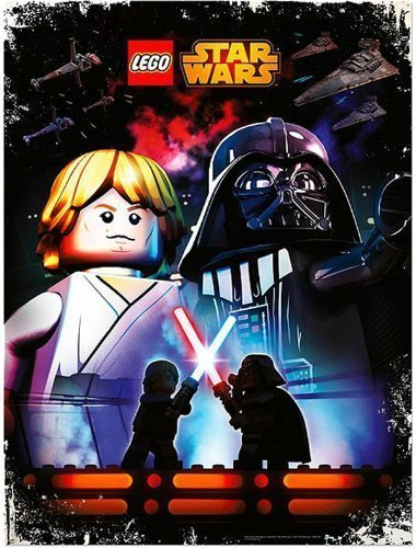LEGO Star Wars May the 4th Be with You 2014 Poster (Poster Promo Folded)