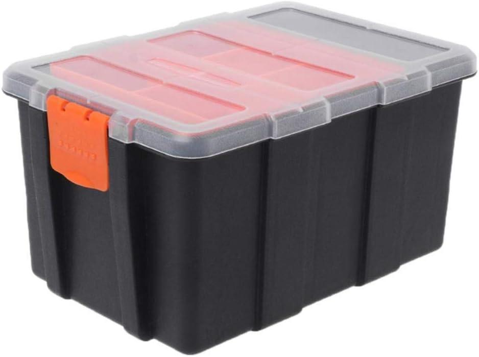 DYHM Caja de herramientas Herramientas Caja de Herramientas del electricista de herramientas de plástico portátil de piezas de la caja de almacenamiento Caja Maleta Maleta la caja de almacenaje del so: Amazon.es: