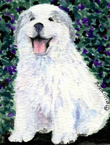 Caroline's Treasures SS8856CHF Great Pyrenees Flag Canvas, Large, Multicolor Review