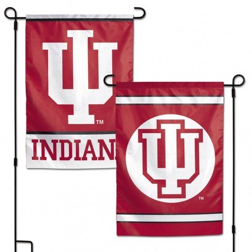 Ncaa Indiana University - WinCraft NCAA Indiana University IU Hoosiers 12x18 Inch 2-Sided Outdoor Garden Flag