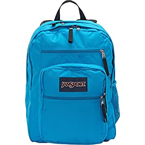"JanSport Big Student Backpack - 17.5"" (Bleached Denim / White Dot)"