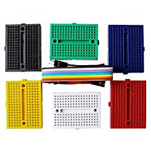 Elegoo 6PCS 170 tie-points Mini Breadboard kit for Arduino