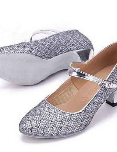 ShangYi Nicht Anpassbare - Keilabsatz - Glitter - Modern/Standard-Tanz Schuhe - Damen Brown