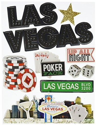 me & my BIG ideas Soft Spoken Themed Embellishments, Las Vegas