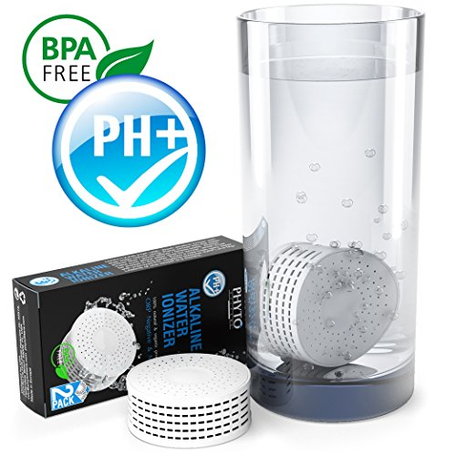 Best Alkaline Water - Alkaline Water Ionizer - used with Alkaline Water Pitcher - Water Filter Replacement by PHYTO FILTER