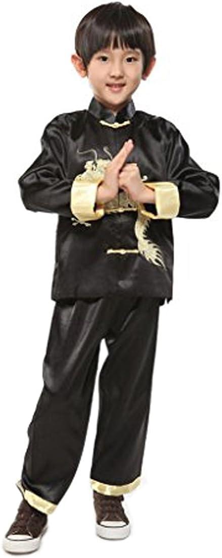 Amazon.com: Suimiki Traje tradicional chino de dragón Kung ...