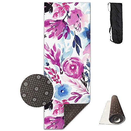 Non Slip Yoga Mat Misty-garden-desktop-wallpaper Premium Printed 24