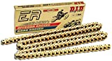 D.I.D 520ERV3-98 Gold 98-Link High Performance X-Ring Chain with Connecting Link