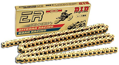 D.I.D 520ERV3-98 Gold 98-Link High Performance X-Ring Chain with Connecting Link by D.I.D. (Image #1)