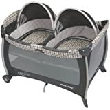 Graco Pack 'n Play Playard with Twins Bassinet, Vance...