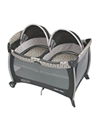 Graco Pack 'n Play Playard with Twins Bassinet, Vance BOBEBE Online Baby Store From New York to Miami and Los Angeles