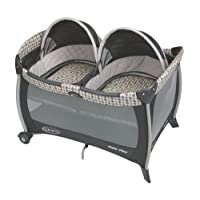 Graco Pack 'n Play Playard with Twins Bassinet, Vance
