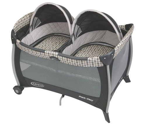 Graco Pack 'n Play Playard with Twins Bassinet, Vance (Twin Bassinet Pack And Play)