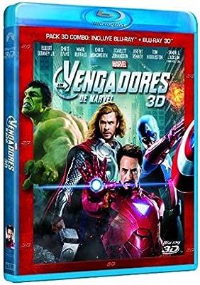 Los Vengadores (3D + Blu-ray) [Blu-ray]: Amazon.es: Robert Downey ...