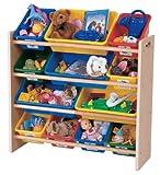 Tot Tutors Toy Organizer, Primary Colors, Baby & Kids Zone