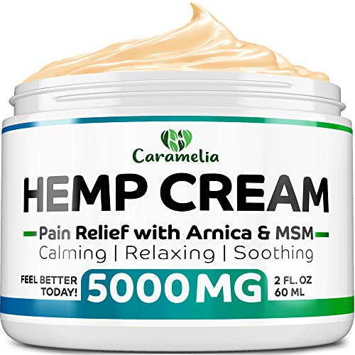 Hemp Extract Cream - 5000Mg - Made in USA - Natural Hemp Pain Relief Cream for Inflammation, Muscle, Joint, Back, Knee & Arthritis Pain - Hemp Salve Contains Arnica, MSM & 10% EMU Oil - Non-GMO (Get Rid Of Diabetes In 30 Days)