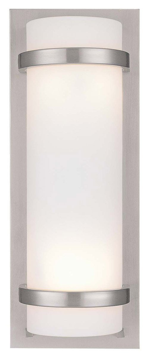 Minka Lavery 341-84, 2 -Light Wall Sconce, Brushed Nickel by Minka Lavery