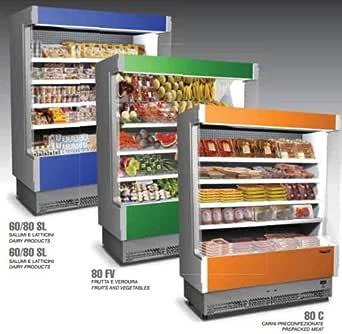 Expositor mural refrigerador nevera salami cuajada cm 133x80x204 ...
