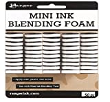#9: Ranger 1-Inch Ink Round Blending Replacement Foams, Mini, 50-Pack