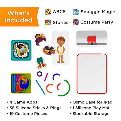 51DjS%2BF9q0L - Osmo - Little Genius Starter Kit for iPad - 4 Hands-On Learning Games - Preschool Ages - Problem Solving & Creativity (Osmo iPad Base Included)