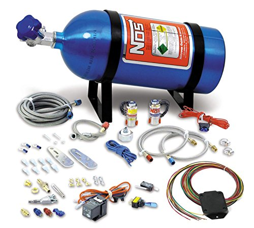 NOS 05134NOS Universal Drive-By-Wire Wet Nitrous System - 4-6 (Efi Wet Kit)