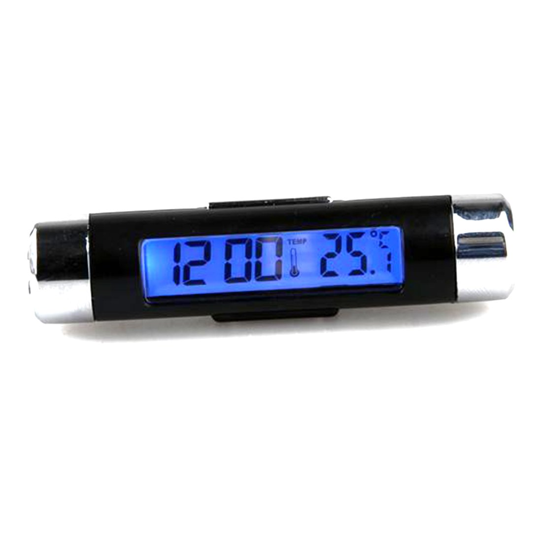 Amazoncom Car Lcd Display Digital Backlight Clock Time Thermometer