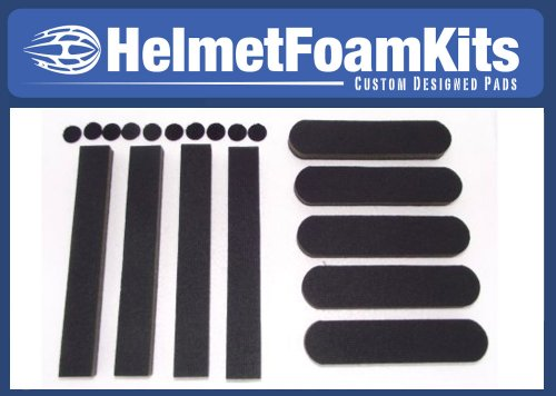 Replacement Foam Helmet Pads Universal Kit Bicycle Cycling ...