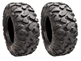 Pair of STI Roctane XD Radial (8ply) ATV Tires 25x10R-12 (2)