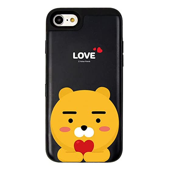 new styles 71758 bad39 Amazon.com: Kakao Friends Love Card Bumper Case for iPhone X/XS ...