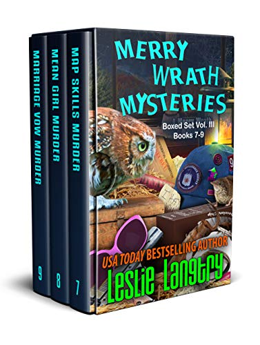 Merry Wrath Mysteries Boxed Set Vol. III (Books 7-9) by [Langtry, Leslie]