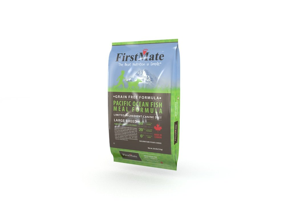 FirstMate Pet Foods Pacific Ocean Fish Large Breed, 28.6 Pound