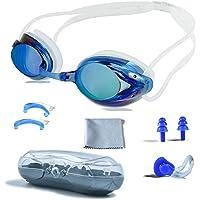 PHELRENA Swimming Goggles, Professional Swim Goggles Anti...