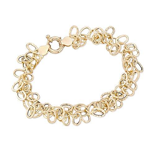Ross-Simons Italian 14kt Yellow Gold Multi-Link Bracelet ()