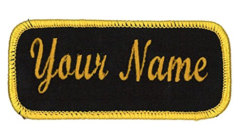 Name Embroidered Patches - 8
