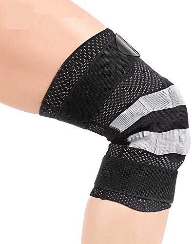 膝パッド スケートニーパッド大人の通気性の調節可能なアラミド繊維モトクロスマウンテンバイクサイクリングスケートボード (サイズ : S)