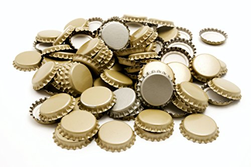 Mr. Beer 144 Count Metal Beer Bottle Caps]()
