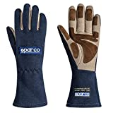 Sparco 00130410BM Gloves Land Classic 10 Navy