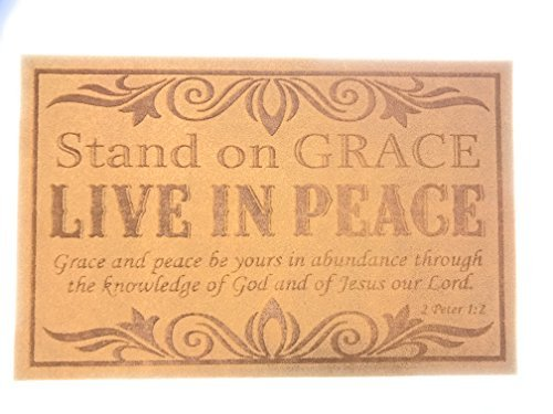 Stand on Grace Doormat by CBD