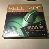 Reel Tape High Output Studio Quality Recording Tape 1800 Ft.