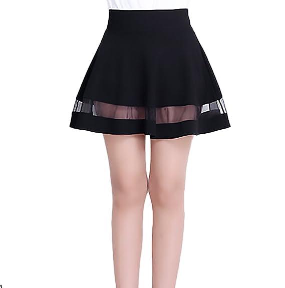 amplia selección descuento especial de auténtica venta caliente HX fashion Faldas Cortas Mujer Elegantes Sencillos Diario ...