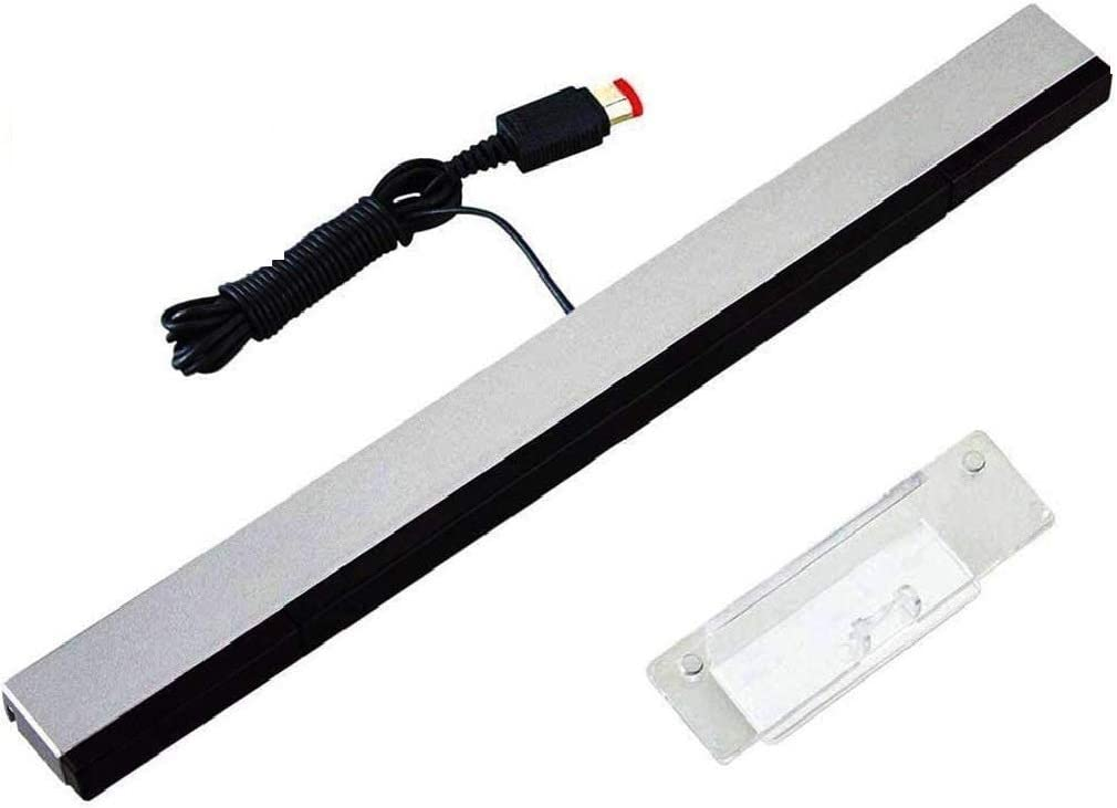 Wii Sensor Bar, Wired Infrared IR Ray Motion Sensor Bar Compatible with Nintendo Wii/Wii U Console
