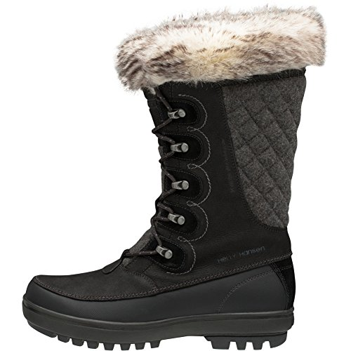 Helly Hansen Women's Garibaldi VL Snow Boot, Jet Black/Jet Black/Charcoal, 6 B(M) US