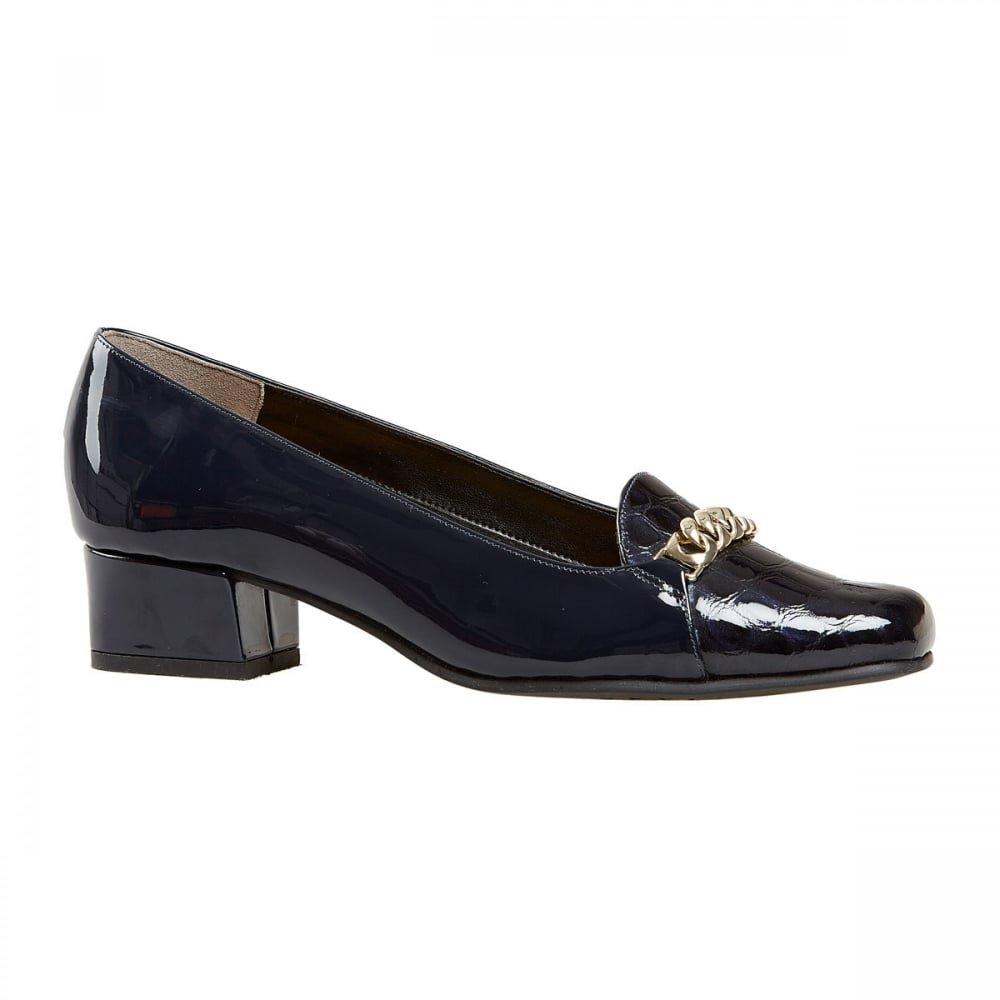 Van Dal - Mocasines de Piel para mujer azul azul marino: Amazon.es: Zapatos y complementos